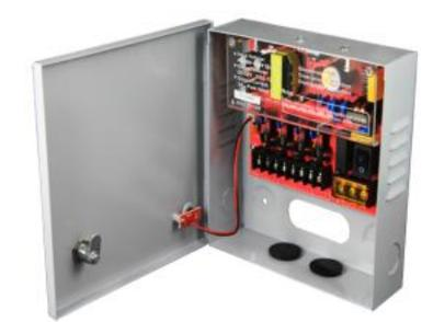 3 AMP CCTV Switching Power Supply with Enclosure