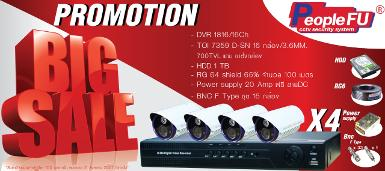Promotion Set DVR 16CH 700TVL 16 CH